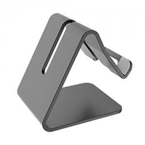 Univerzální hliníkový stojan na telefon - barva černá
