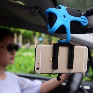 stativ a držák na mobil - Octopus v autě