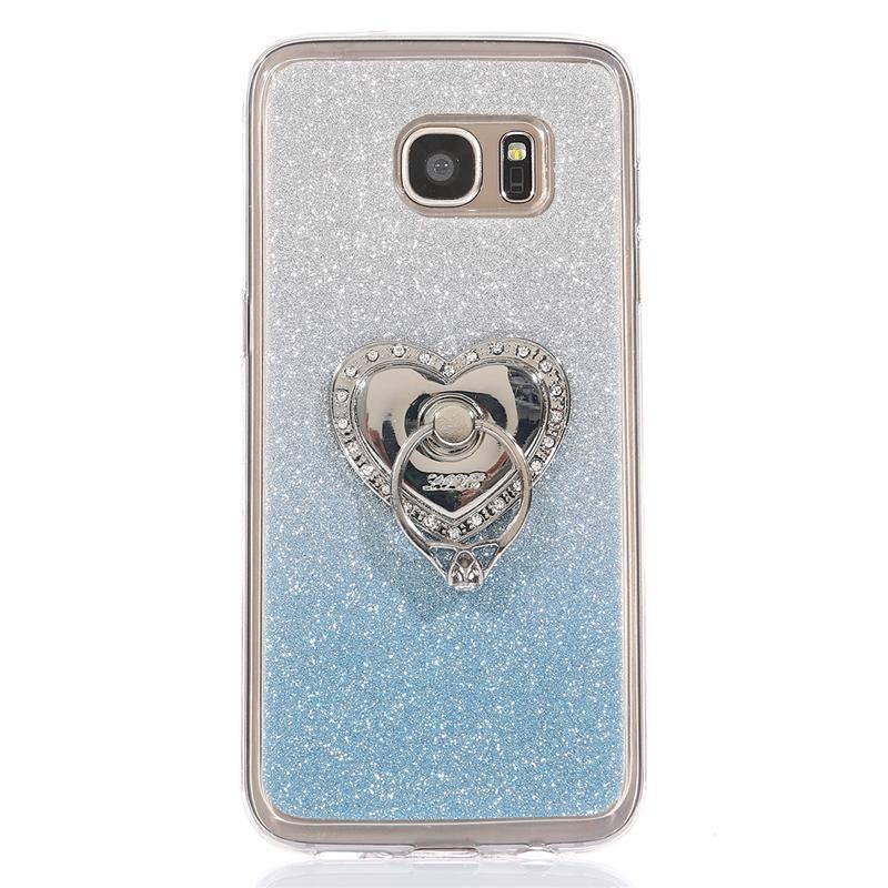 Ozdoba na mobil – LOVE imitace Stříbro – bílé kameny