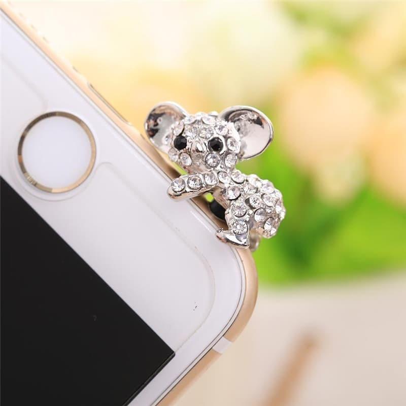 Ozdoba na mobil – Koala stříbrná