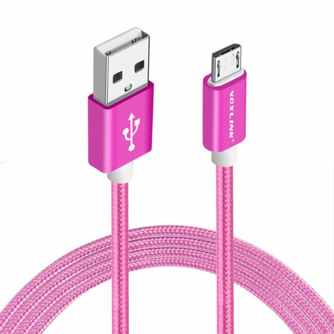 USB kabel Android červený