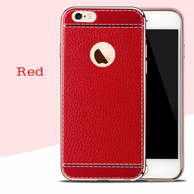 pouzdro iphone 7 červená