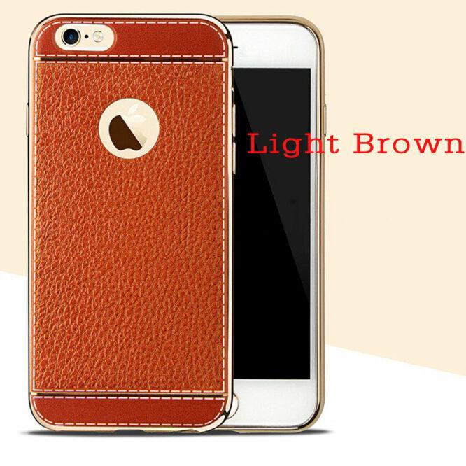 pouzdro iphone 7 světle hnědá