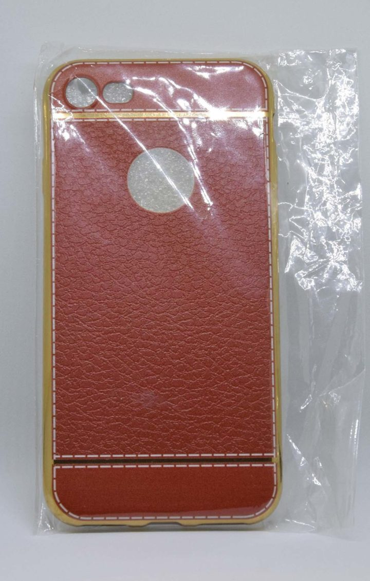 pouzdro iphone 7 -světle hnědá foto