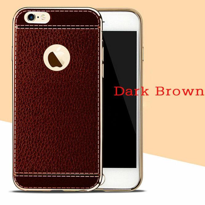 pouzdro iphone 7 tmavě hnědá