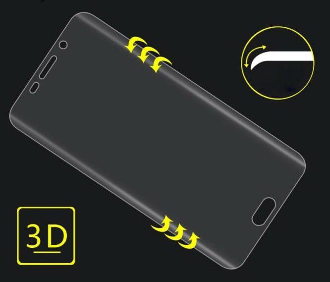 3D ochranná fólie Samsung S7
