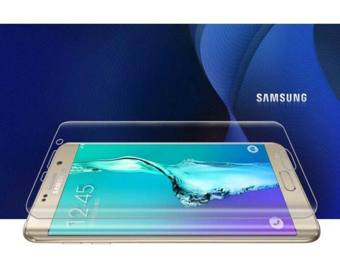 z boku 3D ochranná fólie Samsung S7