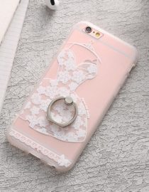 zadní kryt iphone bílé šaty