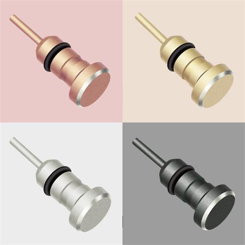 Prachový konektor - kryt Jacku kovový 4barvy_2