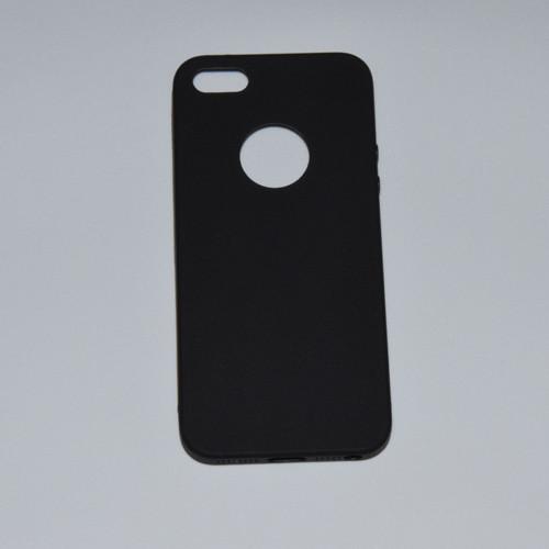 Silikonové pouzdra pro iPhone_černé