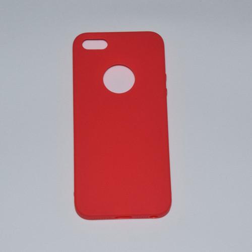 Silikonové pouzdra pro iPhone_červené