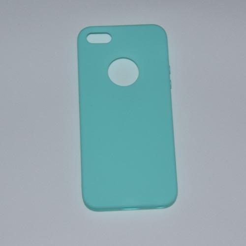 Silikonové pouzdra pro iPhone_tyrkysové
