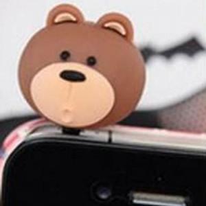 ozdoba na mobil zvířátka_medvěd