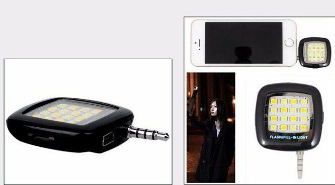 Set příslušenství pro mobil - světlo