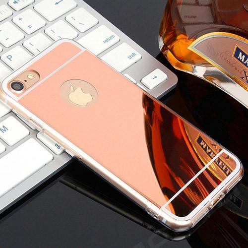 silikonové pouzdro iphone 5_růžové zlato