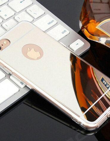 silikonové pouzdro iphone 5_stříbrná