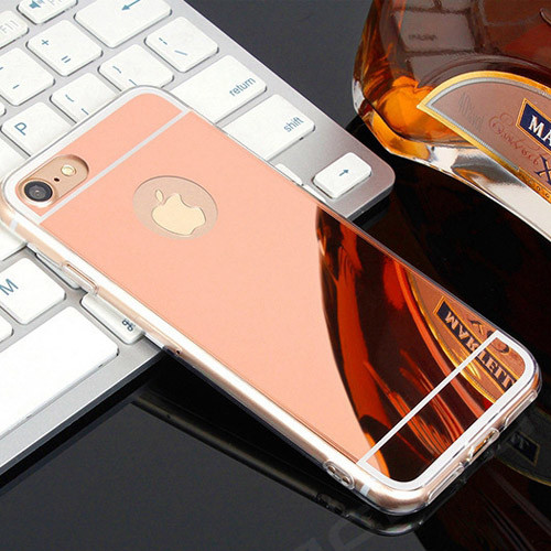 silikonové pouzdro iphone 6_růžové zlato