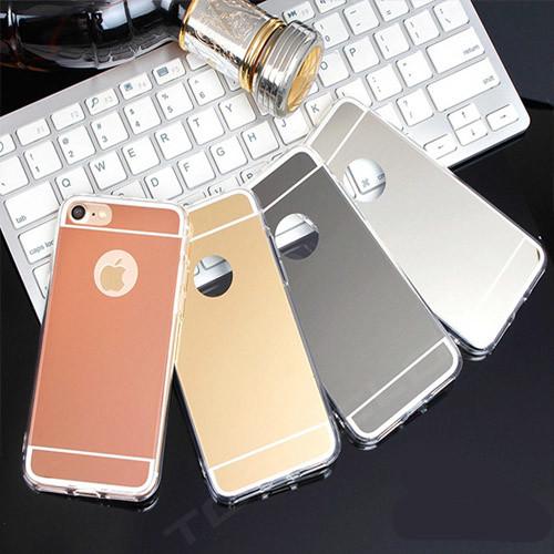 Luxusní zrcadlové silikonové pouzdro iPhone 7