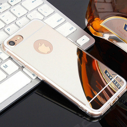 silikonové pouzdro iphone 7_stříbrná