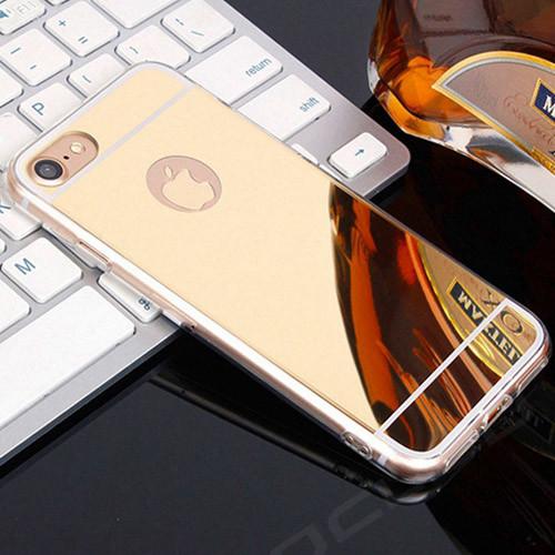 silikonové pouzdro iphone 7_zlato