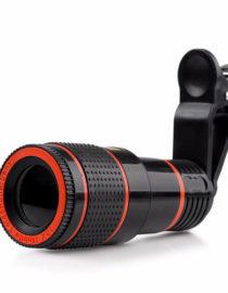 teleskopický objektiv na mobil 12x zoom