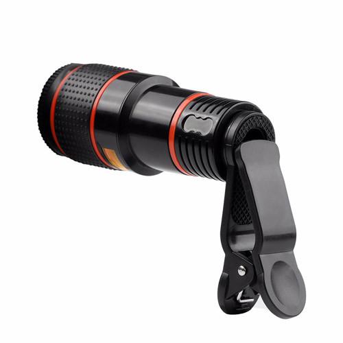 teleskopický objektiv na mobil 12x zoom_zezadu
