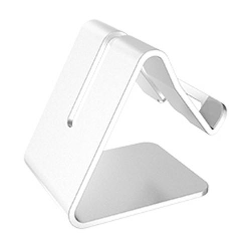 Univerzální hliníkový stojan na telefon barva stříbrná