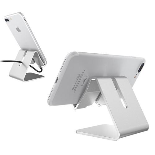 Univerzální hliníkový stojan na telefon - použití