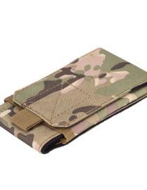 Armádní pouzdro na opasek pro displej 5,7 - maskáčová