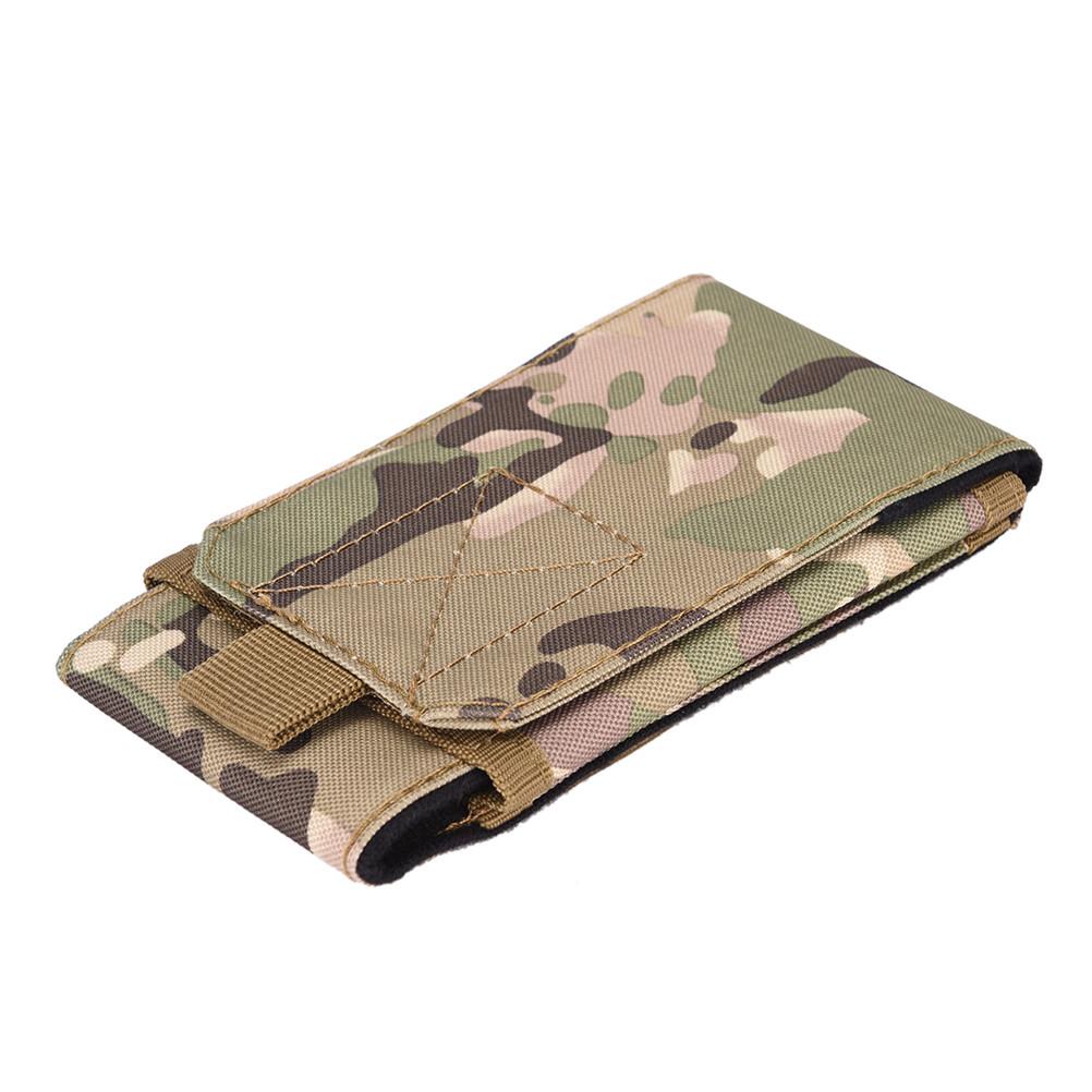 Armádní pouzdro na opasek pro displej 5,7″ – maskáčová