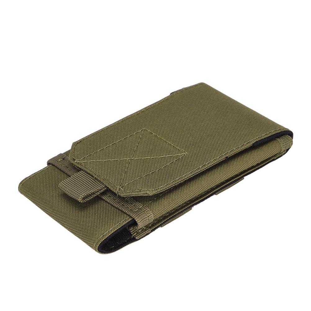 Armádní pouzdro na opasek pro displej 5,7″ – zelená