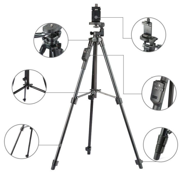 Stativ na mobil 125cm – YUNTENG VCT-5208RM – náhled
