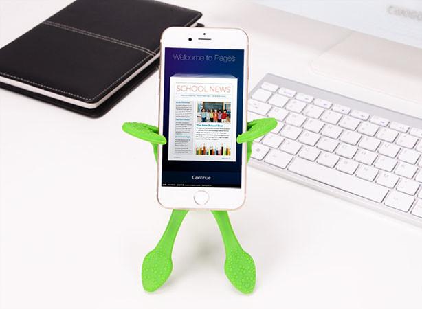 stativ a držák na mobil - Octopus - držák mobilu