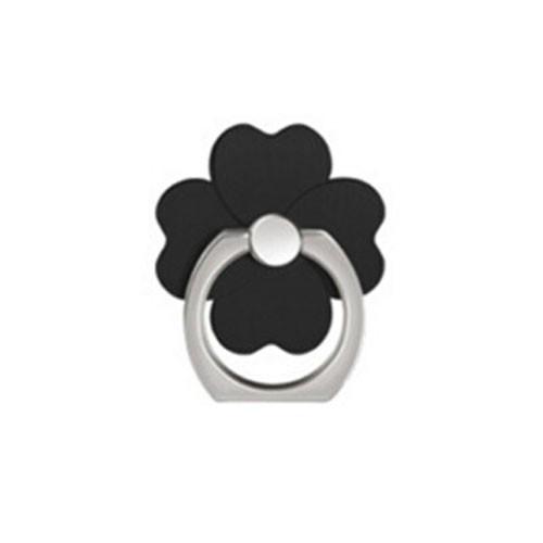 Ozdoba na mobil Čtyřlístek černá
