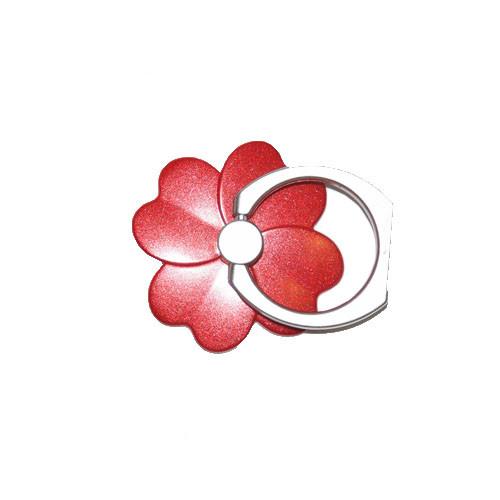 Ozdoba na mobil Čtyřlístek - červená 2