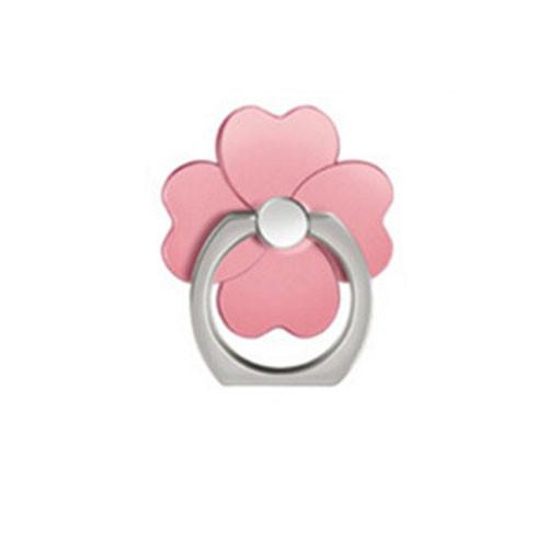 Ozdoba na mobil Čtyřlístek - růžová