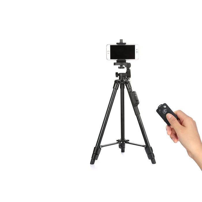 Stativ na mobil 125cm - YUNTENG VCT-5208RM - ovladač 250x250