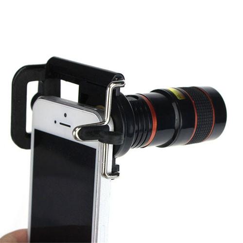 Teleskopický objektiv na mobil - 8x zoom