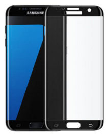 Tvrzené sklo na Samsung Galaxy S7 Edge - černé