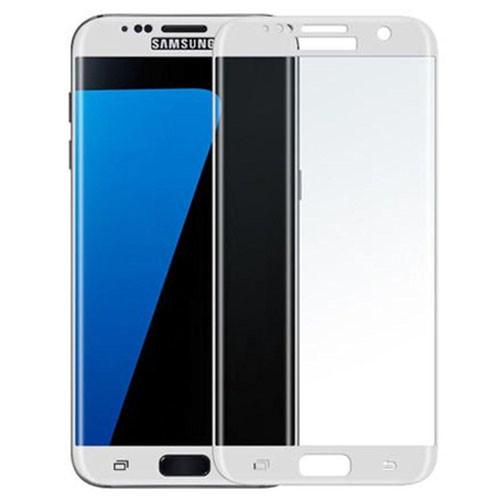 Tvrzené sklo na Samsung Galaxy S7 Edge - bílá verze