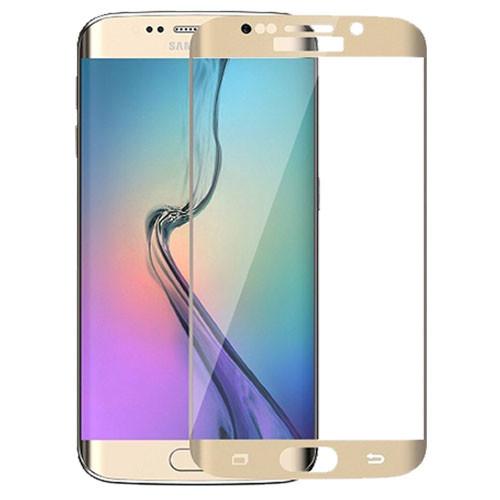 Tvrzené sklo na Samsung Galaxy S7 Edge - zlatá