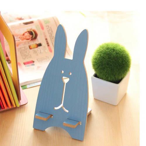 držák na mobil - zajíc modrý
