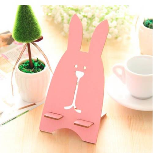 držák na mobil - zajíc růžový