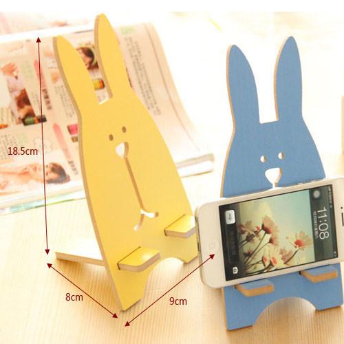 držák na mobil - zajíc - rozměry