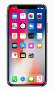 iPhone X přední displej