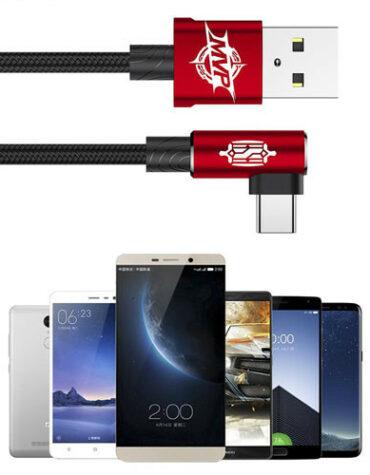 BASEUS USB kabel typ C – 100cm a 200cm