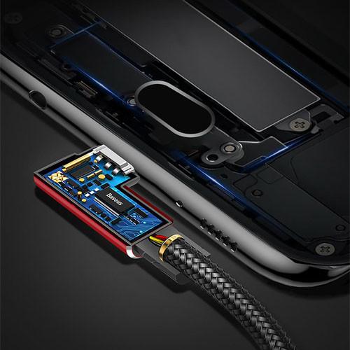 BASEUS USB kabel typ C – 100cm a 200cm – detail