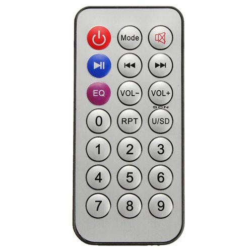 Kazetový přehrávač MP3 s dálkovým ovladačem pro SD karty dálkový ovladač