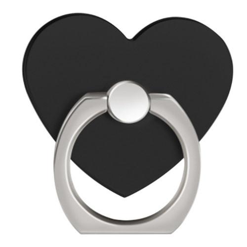 Ozdoba na mobil Srdce černá