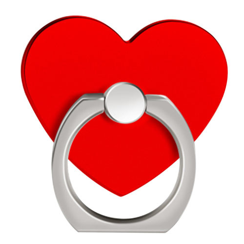 Ozdoba na mobil Srdce červená
